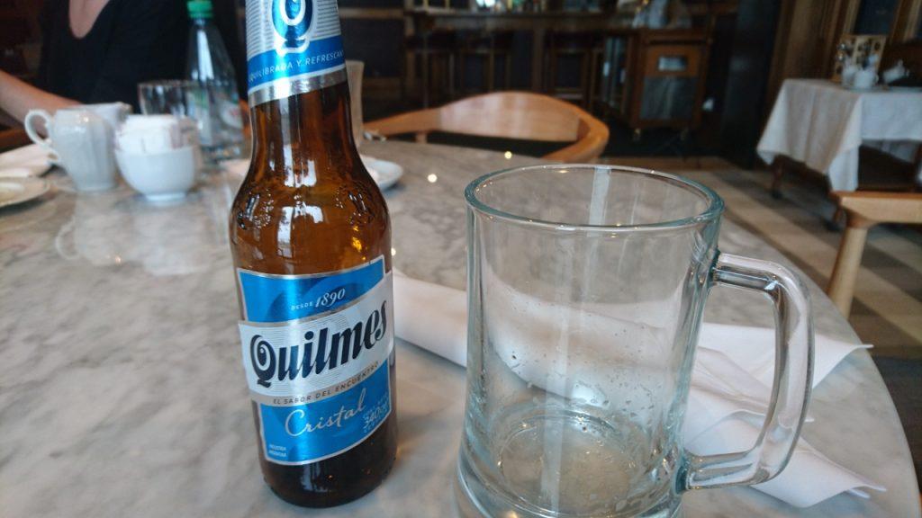 Taste testing for my preferred Argentinian ale.